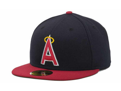 Los Angeles Angels of Anaheim MLB Custom Collection 59FIFTY Cap Hats