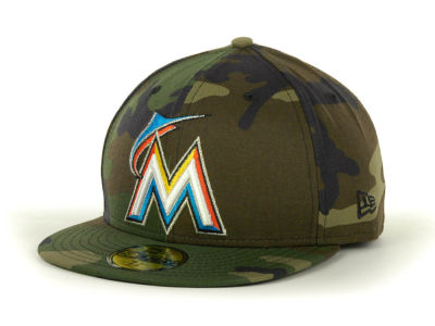 Miami Marlins MLB Custom Collection 59FIFTY Cap Hats