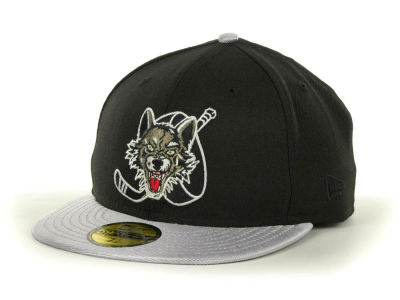 Chicago Wolves NHL Custom Collection 59FIFTY Cap Hats
