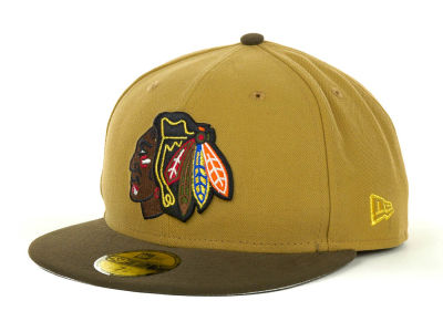 Chicago Blackhawks NHL Custom Collection 59FIFTY Cap Hats
