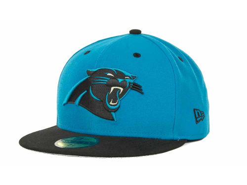 Carolina Panthers New Era NFL 2 Tone 59FIFTY Cap Hats