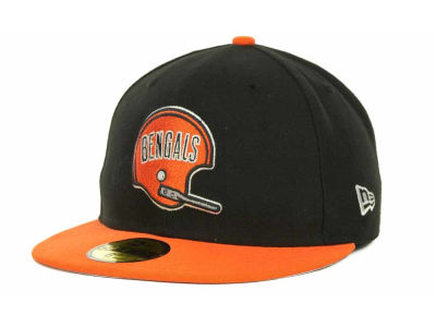 Cincinnati Bengals NFL Historic Basic 59FIFTY Cap Hats