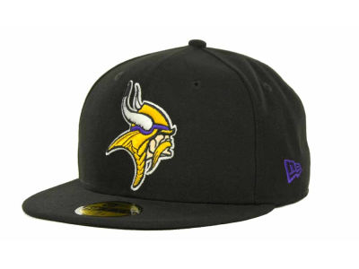 Minnesota Vikings NFL 2013 Logo Change Fitted 59FIFTY Cap Hats
