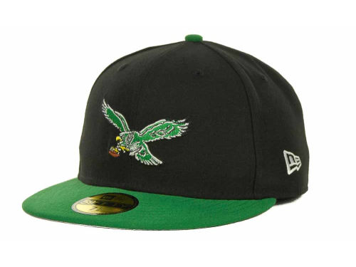 Philadelphia Eagles New Era NFL Historic Basic 59FIFTY Cap Hats