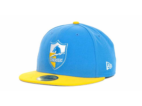 San Diego Chargers New Era NFL Historic Basic 59FIFTY Cap Hats