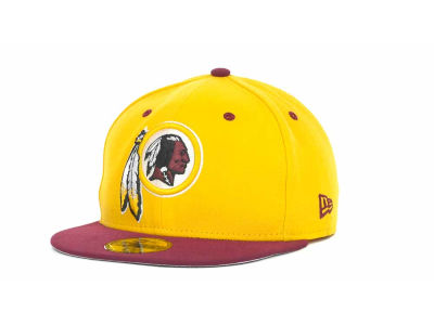 Washington Redskins NFL 2 Tone 59FIFTY Cap Hats