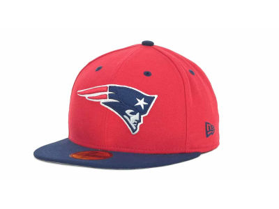 New England Patriots NFL 2 Tone 59FIFTY Cap Hats
