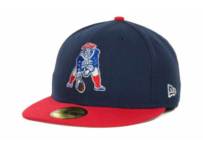 New England Patriots NFL Historic Basic 59FIFTY Cap Hats