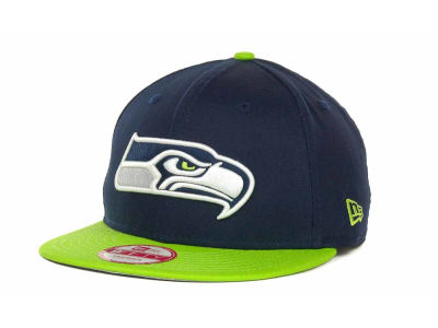 Seattle Seahawks NFL Baycik 9FIFTY Snapback Cap Hats