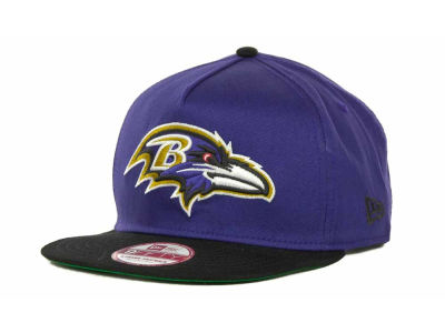 Baltimore Ravens NFL Team Flip Up A Frame 9FIFTY Cap Hats