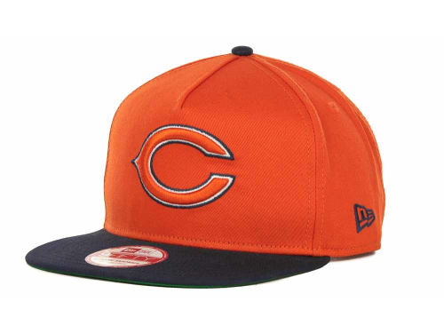 Chicago Bears New Era NFL Team Flip Up A-Frame 9FIFTY Snapback Cap Hats