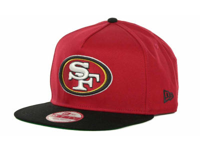 San Francisco 49ers NFL Team Flip Up A Frame 9FIFTY Cap Hats