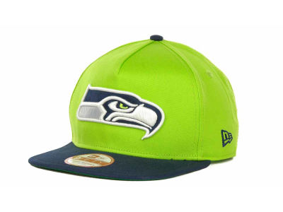 Seattle Seahawks NFL Team Flip Up A Frame 9FIFTY Cap Hats