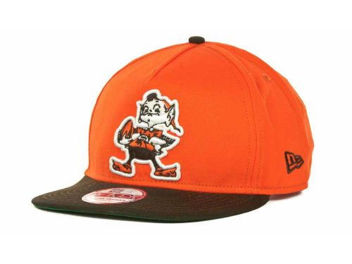 Cleveland Browns New Era NFL Team Flip Up A Frame 9FIFTY Cap Hats