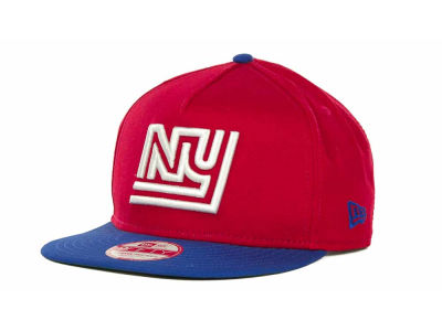 New York Giants NFL Team Flip Up A Frame 9FIFTY Cap Hats