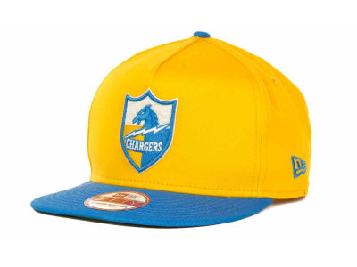 San Diego Chargers NFL Team Flip Up A Frame 9FIFTY Cap Hats
