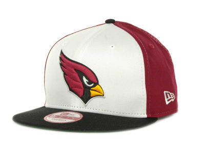 Arizona Cardinals NFL White Block 9FIFTY Cap Hats