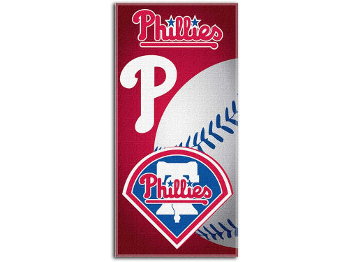 Philadelphia Phillies Mcarthur Fiber Reactive Beach Towel