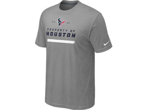 Houston Texans Nike NFL Property Of 2012 T-Shirt