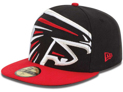 Atlanta Falcons NFL Enlarged Logo 59FIFTY Cap Hats