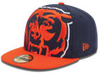 Chicago Bears New Era NFL Enlarged Logo 59FIFTY Cap Fitted Hats