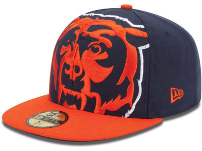 Chicago Bears NFL Enlarged Logo 59FIFTY Cap Hats