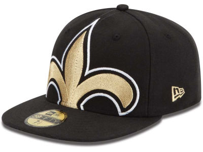 New Orleans Saints NFL Enlarged Logo 59FIFTY Cap Hats