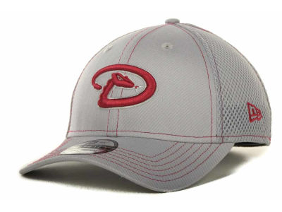 Arizona Diamondbacks MLB Gray Neo 39THIRTY Cap Hats