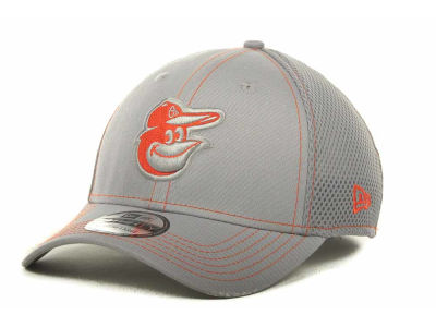 Baltimore Orioles MLB Gray Neo 39THIRTY Cap Hats