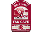 Oklahoma Sooners Wincraft 11x17 Wood Sign Flags & Banners