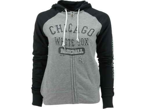 Chicago White Sox Majestic MLB Women's This Is My Team Full Zip Hoodie