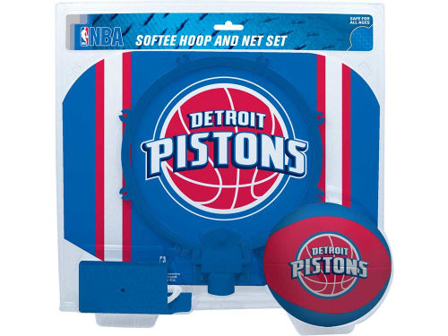 Detroit Pistons Slam Dunk Hoop Set