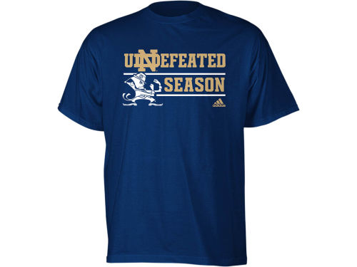 Notre Dame Fighting Irish adidas NCAA Notre Dame 2012 Undefeated Season T-Shirt
