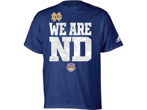 Notre Dame Fighting Irish adidas NCAA 2013 BCS Seize The Day T-Shirt