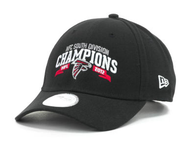 Atlanta Falcons NFL 2012 Division Champs 9FORTY Cap Hats