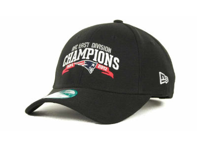 New England Patriots NFL 2012 Division Champs 9FORTY Cap Hats