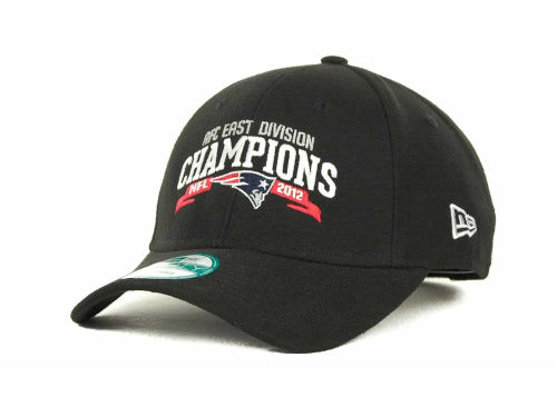 New England Patriots New Era NFL 2012 Division Champs 9FORTY Cap Hats
