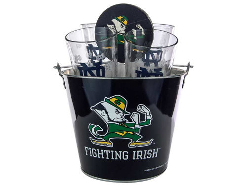 Notre Dame Fighting Irish Boelter Brands Metal Bucket Set