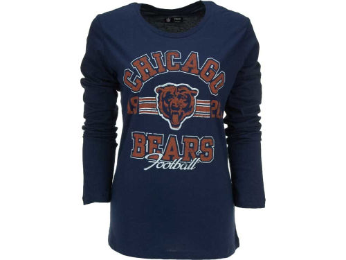 Chicago Bears VF Licensed Sports Group NFL Womens Illegal Formation Long Sleeve T-Shirt