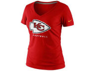 Nike NFL Womens V-Neck Legend Logo T-Shirt T-Shirts