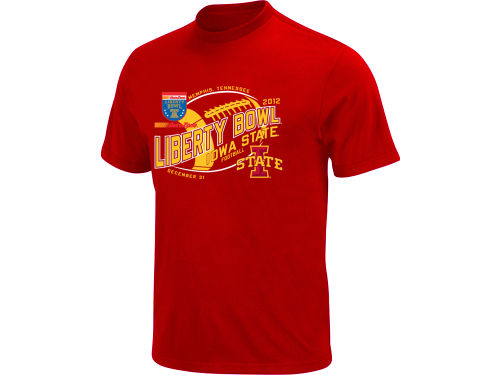 Iowa State Cyclones Blue 84 12 NCAA Bowl Bound Fried T-Shirt
