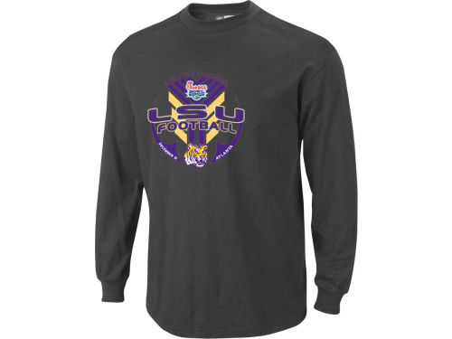 LSU Tigers Blue 84 12 NCAA Bowl Bound IWIS Long Sleeve T-Shirt