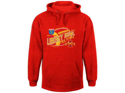 Iowa State Cyclones Blue 84 12 NCAA Bowl Bound Fried Hoody