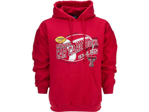 Texas Tech Red Raiders Blue 84 12 NCAA Bowl Bound Fried Hoody