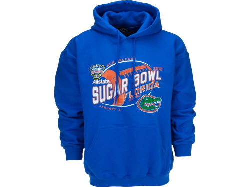 Florida Gators Blue 84 12 NCAA Bowl Bound Fried Hoody