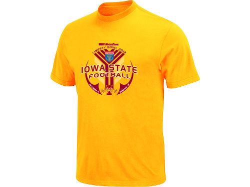 Iowa State Cyclones Blue 84 12 NCAA Bowl Bound IWIS T-Shirt