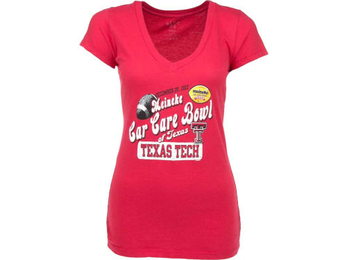 Texas Tech Red Raiders Blue 84 12 NCAA Womens Bowl Bound T-Shirt
