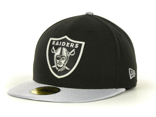 Oakland Raiders New Era NFL Jersey Basic 59FIFTY Cap Hats