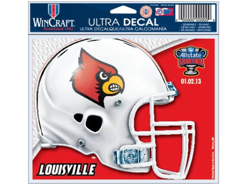 Louisville Cardinals Wincraft 2013 Sugar Bowl Team Ultra Decal