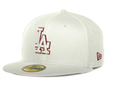 Los Angeles Dodgers MLB White On Color 59FIFTY Cap Hats